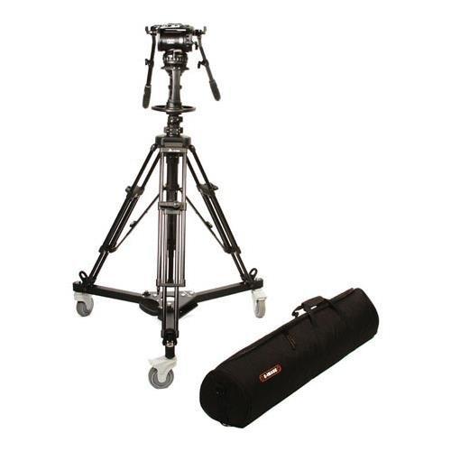Tilta E-Image Pedestal Kit with GH25 Head, Includes EI-7005 E-Image Pedestal Dolly, EI-AT7902A E-Image Pedestal Tripod, GP2 Camera Plate, T30 Bag by Tilta
