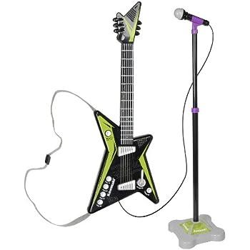 Amazoncom Kawasaki Power House Kids Toy Guitar Toys Games