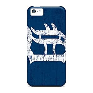 New Style L.M.CASE Hard Case For Iphone 5C Cover Detroit Tigers