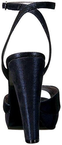 Adrianna Papell Women's Gamma Platform Dress Sandal Navy Vix8bUkbhk