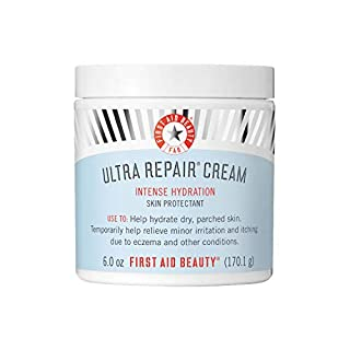 First Aid Beauty Ultra Repair Cream Intense Hydration Moisturizer for Face and Body - 6 oz