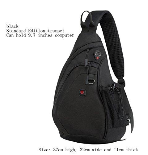Sports Bag Drip Men's Shoulder C Casual Messenger Chest Triangle 0xwqBRx