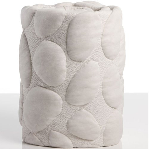 Image of Home and Kitchen Nook Sleep Systems Pebble Pure Crib Removable Mattress Wrap Cover, 100% Organic, Soft, and Breathable, Cloud
