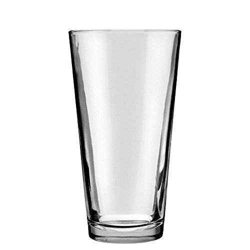 Anchor Hocking 77422 Rim Tempered 22 oz Mixing Glass - 24 / CS