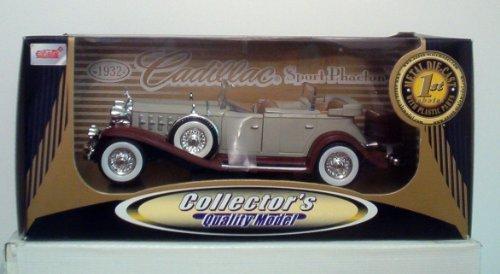 1932 Cadillac Sport Phaeton Diecast Scale 1:24 by Anson ()