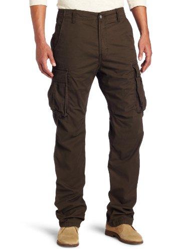 Levi's Men's 569 Loose Cargo Pant, Plantation, 44x30 Levis Cargo Jean