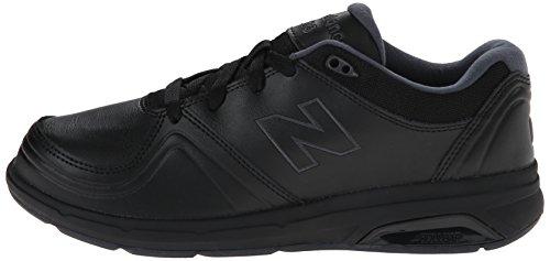 10 White Balance Walking Women's Ww813 Black Shoe New D Us Lace YaF0OqnFT