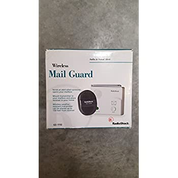 Amazon Com Radio Shack Wireless Mail Guard Audio