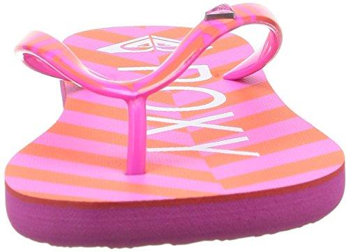 Roxy Mimosa V - Sandalias para mujer Rosa (Pink Stripe)