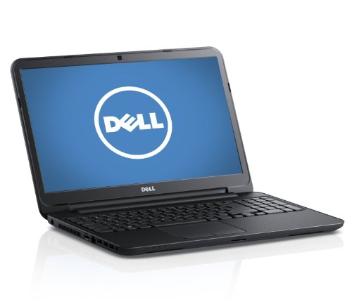 Dell Inspiron 15 - 3521 i15RV-10907BLK 16-Inch Laptop (1.8 GHz Intel i5 3337U Processor, 6GB Ram, 750 GB Hard Drive, Windows 7 professional 64 bit) Black Matte with Textured Finish (Dell Inspiron 15 3521 Core I5 3337u)