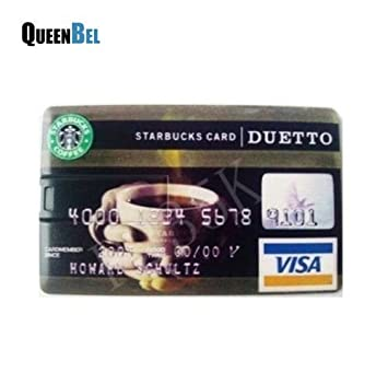 ARBUYSHOP vendidos Starbucks tarjeta de crédito USB pendrive USB ...