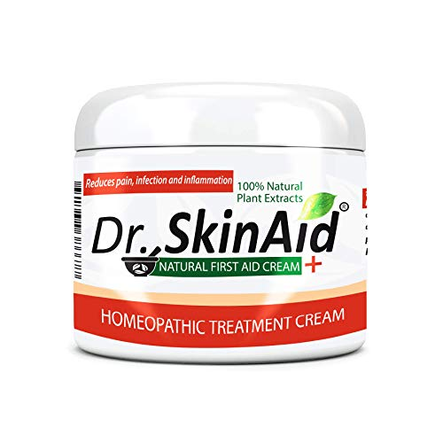 (Dr. Skin Aid - First Aid Cream, Anti-infective Agent for the Resistant Skin Condition. Natural Healing Ingredients Ointment for Analgesic, Anti-inflammatory, Antibacterial and Anti-fungal.)