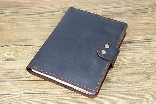 outlet store bda4b 25540 Amazon.com: Personalized Leather ipad Case, Leather New iPad 9.7 ...