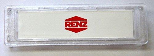 10er Pack Namenschild Renz 65 x 22 mm