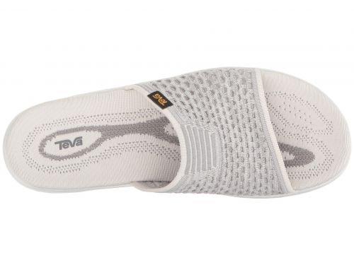 Teva Terra-Float 2 Knit Slide Womens Hiking Bright White
