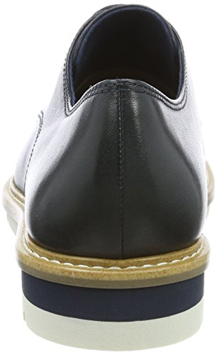 Tamaris Bleu Femme navy Richelieus 23202 Leather qwzB8