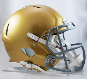 Collegiate Authentic Football Helmet - 8
