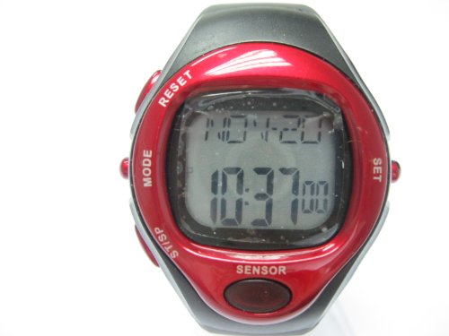 Heart Rate Monitor Calories Counter Fitness Pulse Watch Wristwatches Sports Watch Digital Running Timer