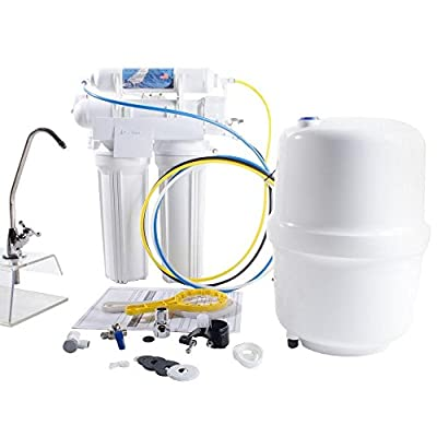 Anchor USA 4-Stage Under-Sink Reverse Osmosis Water Filtration System - 50 GPD