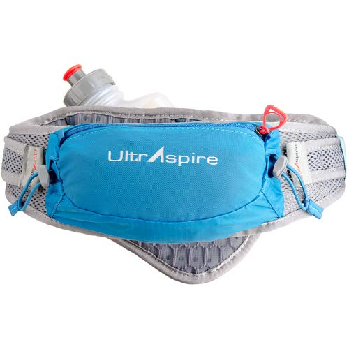 - UltrAspire Synaptic Hydration Waist Belt, Luminous Blue, Universal (Chest Size: 26
