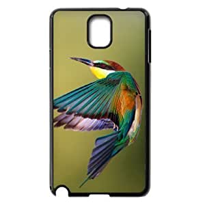Diy Colorful Hummingbird Custom Cover Phone Case for samsung galaxy note 3 Black Shell Phone [Pattern-2]