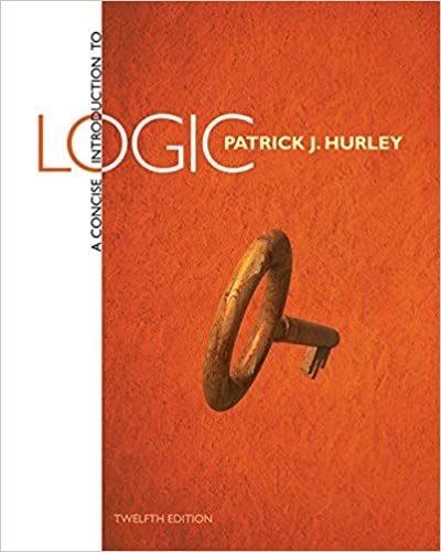 A Concise Introduction To Logic 9781285196541