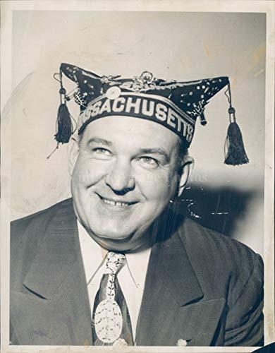 Vintage Photos 1958 Photo Commander Frank Bowler MOC Pup Tent Penny Sale Affair Portrait 6x8 (Penny Moc)