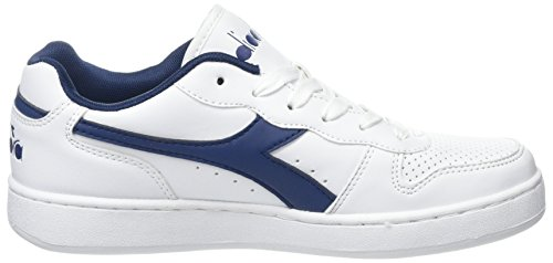 Diadora Estate Shoes Playground White Bianco Blu Bianco Gymnastics Men Off rPOzqxr