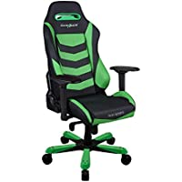 DXRacer OH/IS166/NE Green & Black Iron Series Gaming Chair