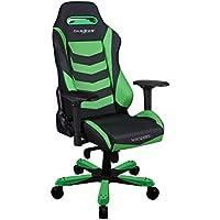 DXRacer OH/IS166/NE Green & Black Iron Series Gaming Chair