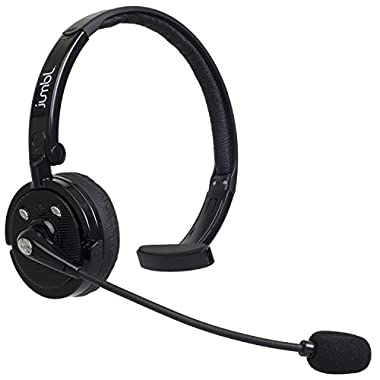 Bluetooth Wireless Headset, Jumbl Hands Free Headset for Cell Phones and All Bluetooth Devices