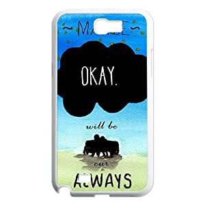 TOSOUL Diy Phone Case Okay Pattern Hard Case For Samsung Galaxy Note 2 N7100
