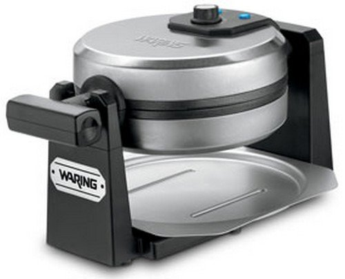 Waring Pro 1000-Watt Stainless Steel/Black Belgian Waffle Maker (Waring Professional Waffle Iron compare prices)