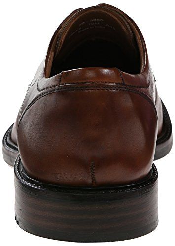 Mens Da Uomo Johnston & Murphy In Tinta Unita Oxford Marrone