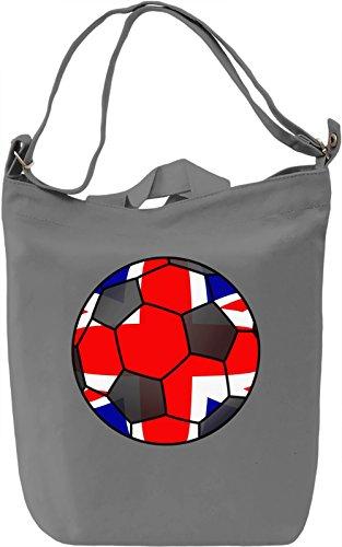 Giornaliera Printing Canvas Football Canvas 100 Borsa Bag Day Canvas Kingdom Cotton Premium United DTG qtPpcwOw