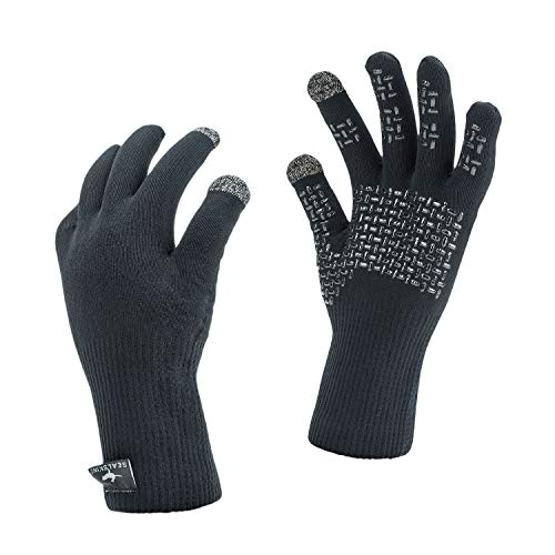 SEALSKINZ Waterproof Ultra Grip Sailing Gloves - Black