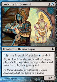 Magic: the Gathering - Lurking Informant - Ravnica - Foil (Series Ppi)