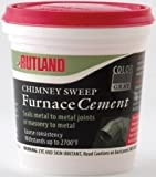 Rutland FSC16 Gray Chimney Sweep Furnace Cement, 1 pint