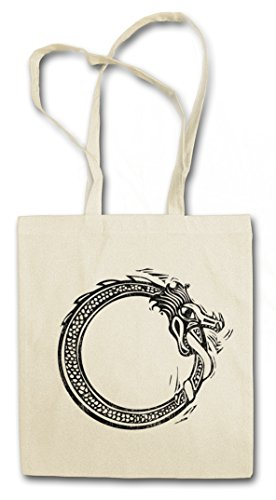 NORSE MIDGARD SNAKE II HIPSTER BAG �?Valhalla serpiente mitología nórdica Walhall Walhalla Ravens Odin Thor Mjölnir Loki Midgard Wikinger Kelten Rune