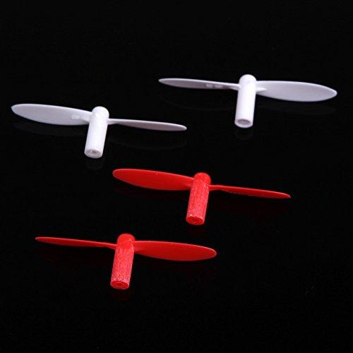 GoolRC WLtoys V272-02 Spare Partie Hélices Rouge & Blanc pour Mini Quadcopter WLtoys V272 V282 V292 Partie