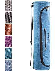 KeenFlex Bolsa de Esterilla de Yoga de Tela Ligera y cómoda y Resistente al Agua