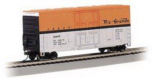 Bachmann Industries Inc. Hi-Cube Box Car Denver and Rio Grande Western - N Scale