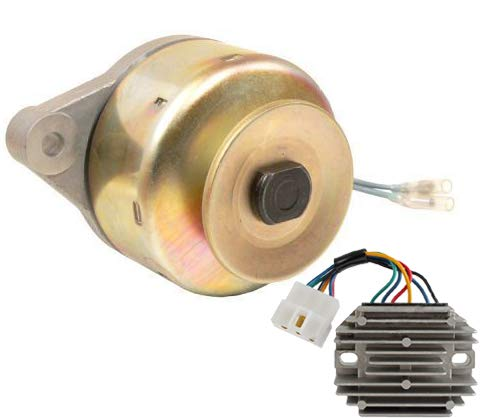 New Alternator & Regulator Kit Fits Kubota B8200 B9200 G1800 G1900 Tractor ()