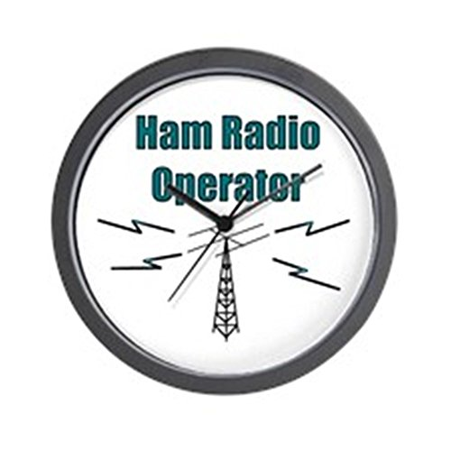 CafePress - Ham Radio Operator Wall Clock - Unique Decorative 10