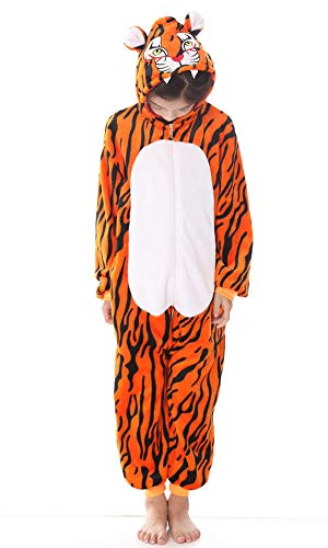 yolsun Tiger Onesie Pajamas, Kids Cute Animal Costume Cosplay]()