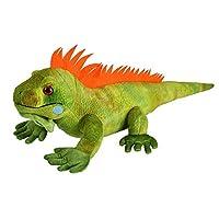 Wild Republic Iguana Plush, Stuffed Animal, Plush Toy, Kids Gifts, Cuddlekins, 15 Inches