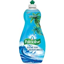 Palmolive Ultra Dish Liquid, Ocean Surf and Beachy Breeze, 25 Ounce Pack of 2