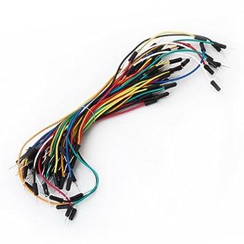 Placa Sin Soldadura Cables De Salto De Cables Para Tablero De Pan: Amazon.es: Electrónica