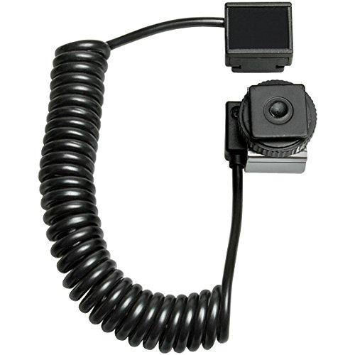 Precision Design E-TTL Off-Camera Shoe Flash Extension Cord for Sony Alpha DSLR-700, A350, A300, A200, A100; Minolta Maxxum Digital 5D, Digital 7D, etc. Digital SLR Cameras ()