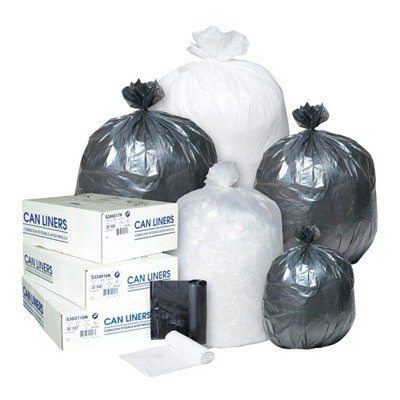 - Integrated Bagging Systems S303708N Clear 8 Mic High Density Can Liners, 30amp;quot; x 37amp;quot; (IBSS303708N) Category: Commercial Can Liners